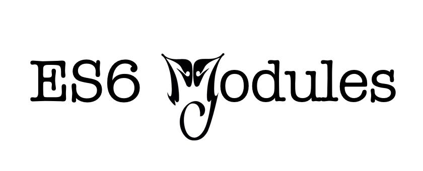 【译】关于 Node.js 里 ES6 Modules 的一次更新说明